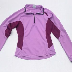 Nike Sphere dry Quarter Zip Purple Jacket